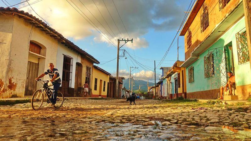 Trinidad, Straßenszene