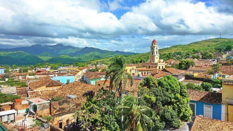 Trinidad, Blick vom Museo Histórico
