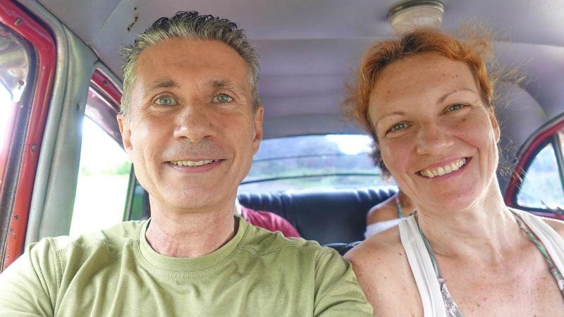Viñales, Taxi Collectivo zum Strand