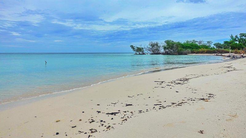 Strand am Cayo Jutías