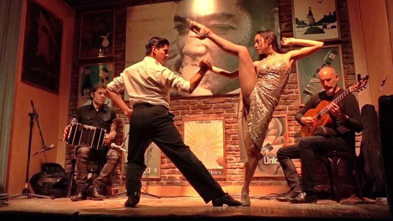 Tangoshow im Todo Mundo Club
