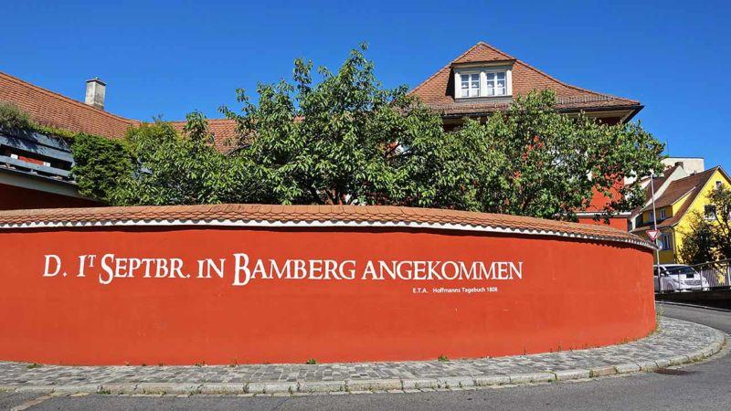 In Bamberg angekommen...