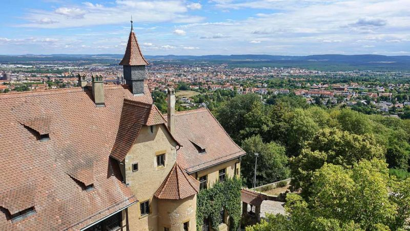 Blick von Altenburg