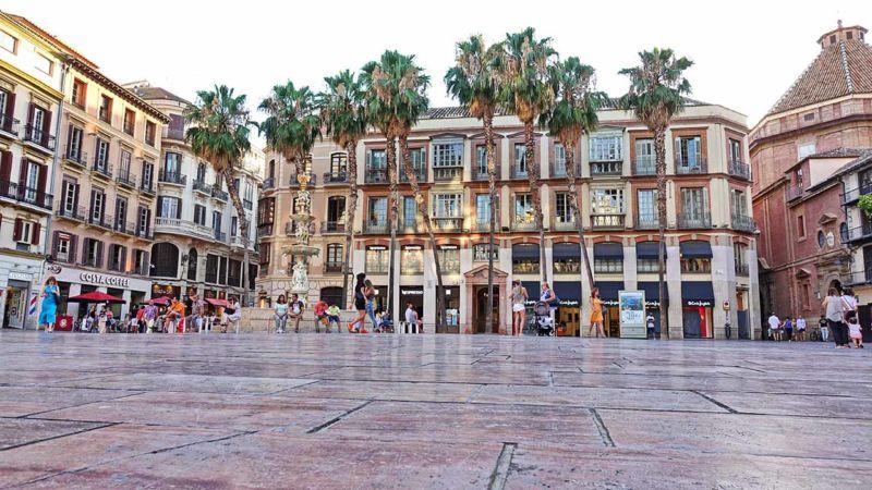 Málaga Zentrum