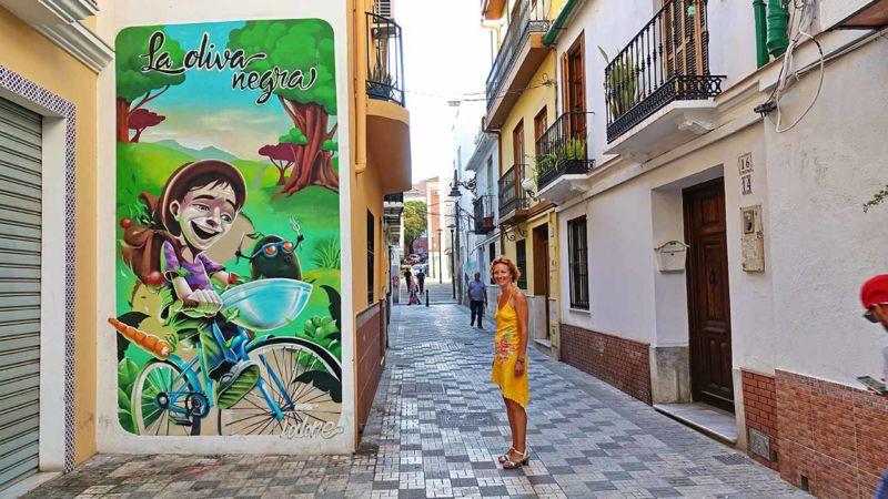 Graffiti La Oliva Negra