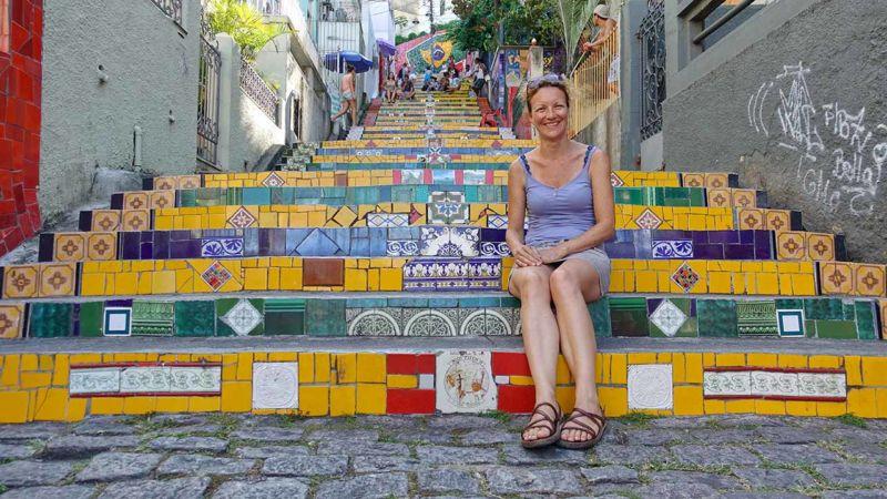 Fliesentreppen Escadaria Selaron
