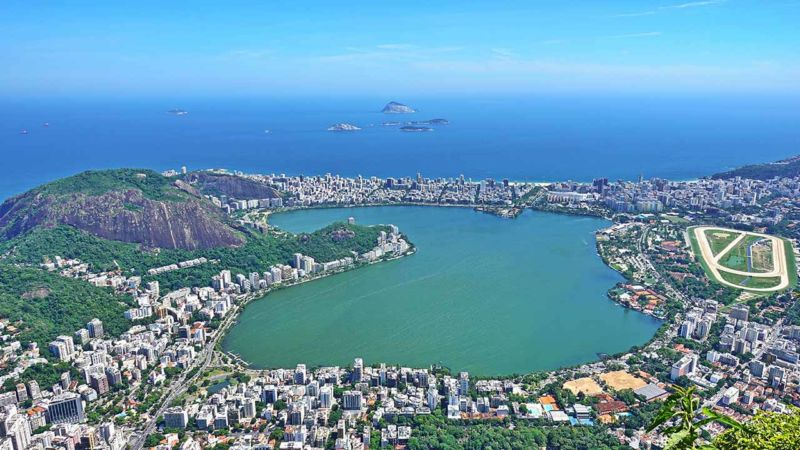 Blick auf die Lagune & Ipanema