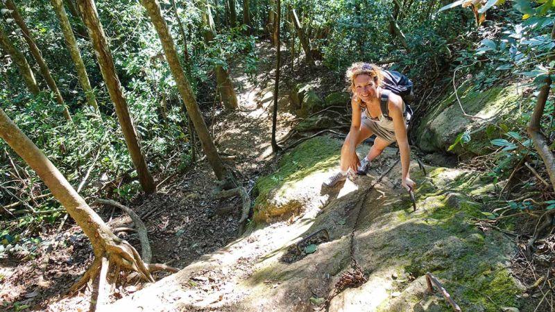 Aufstieg auf den Corcovado durch den Parque Lage