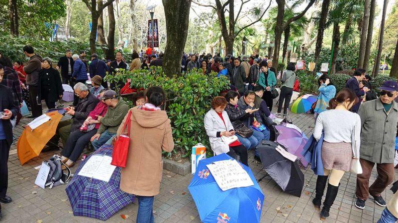 Hochzeitsmarkt im Peoples Park