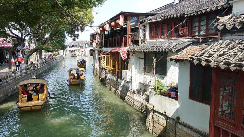 Wasserstadt Zhujiajiao
