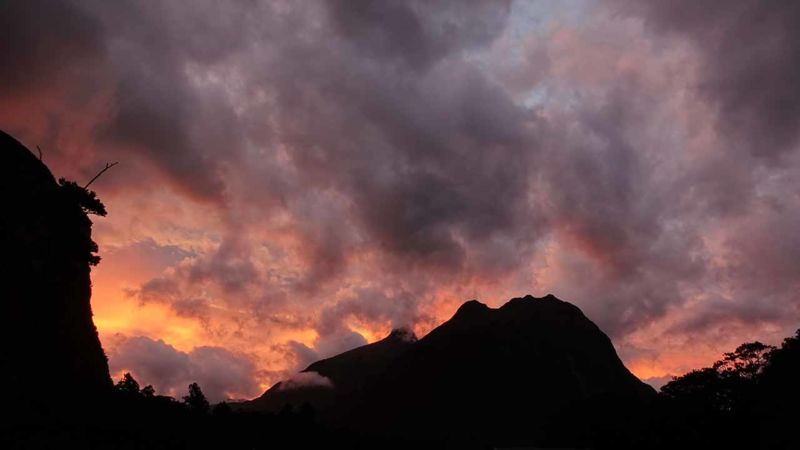 Milford Sound, Sonnenuntergang