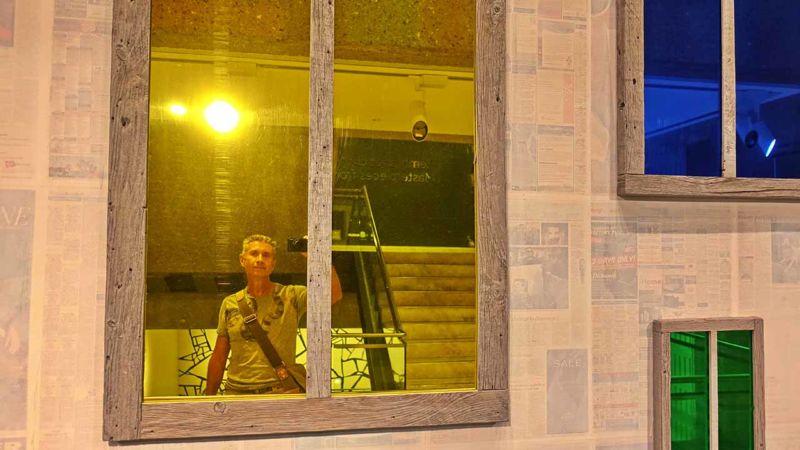 Art Gallery NSW: Selfie mit Spiegel