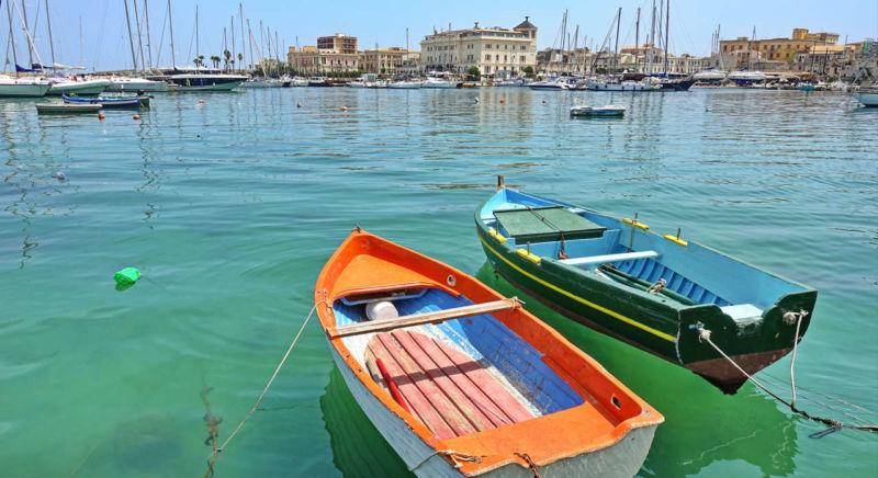 Syrakus Hafen