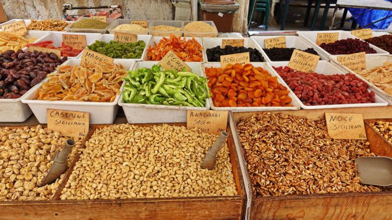 Markt in Syrakus