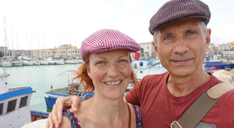 Am Hafen von Catania