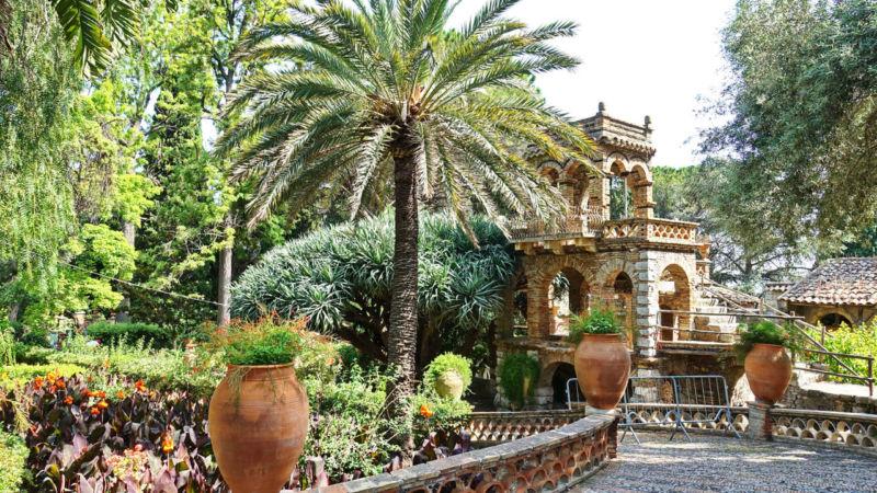 Stadtgarten von Taormina