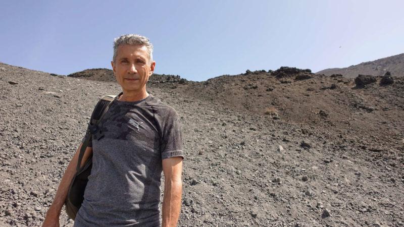 Aufstieg vom Refugio Sapienza