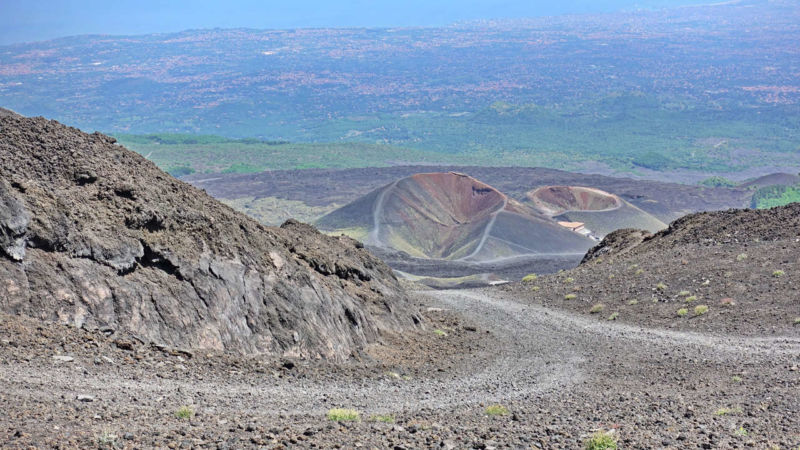 Die beiden Silvestri-Krater