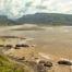 Port St Johns: Mündung des Mzimvubu Flusses in den Indischen Ozean